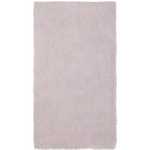 Alfombra gris poliéster shanghai liso 160 x 230cm