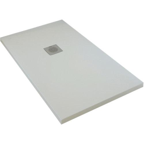 Plato ducha boston 140x80 cm blanco