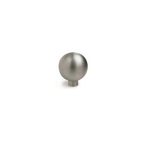 Pomo fabricado en acero inox inox mate, medidas: 15x17mm
