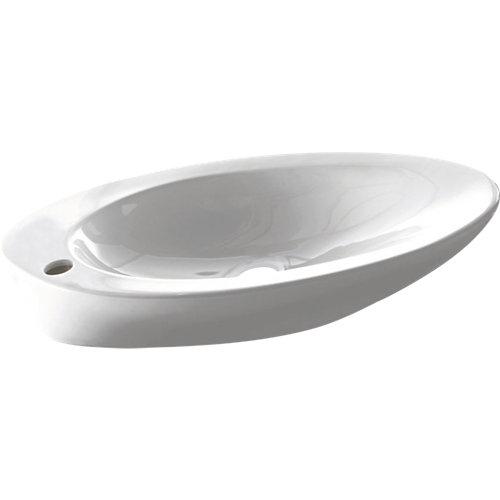 Lavabo pure bathco 620x370x115 mm.