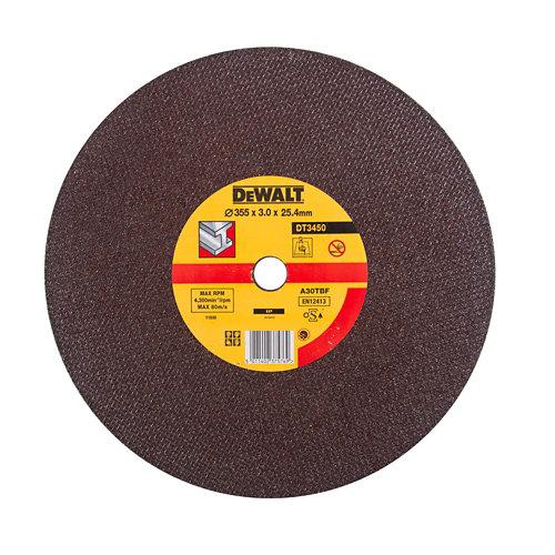 Disco tronzadora dewalt 350x25.4 mm