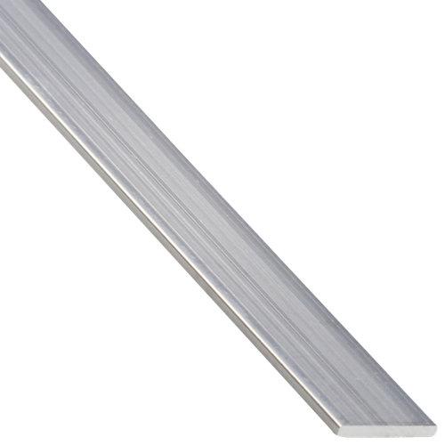 Perfil forma plano de aluminio en bruto