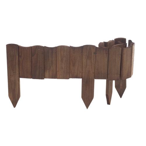 Bordura para desenrollar de madera 30x110 cm