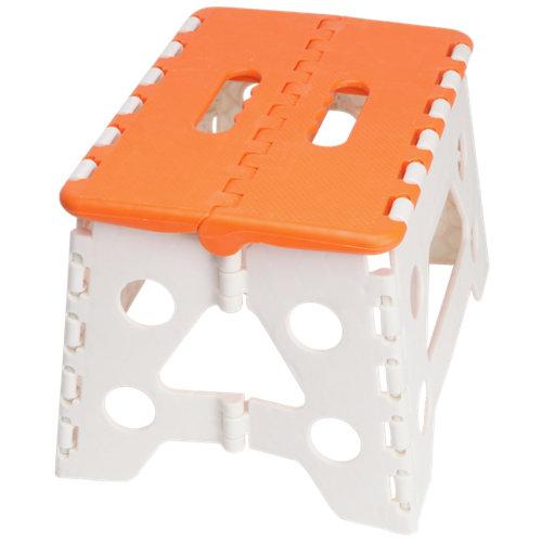 Taburete de plástico para 120 kg de carga y 22 cm de alto