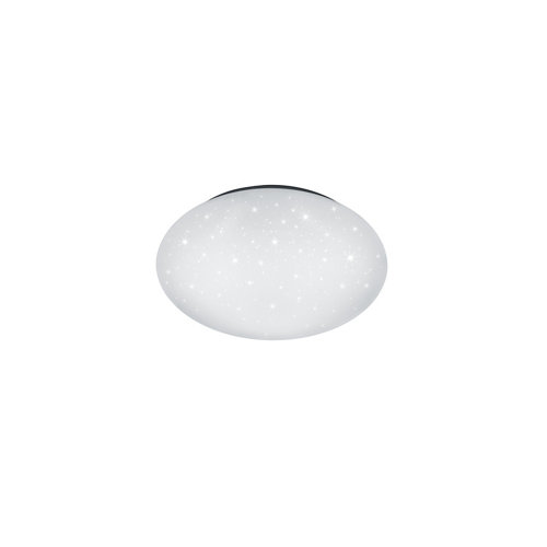 Plafón led reality putz 15w diámetro 40cm efecto estrellitas