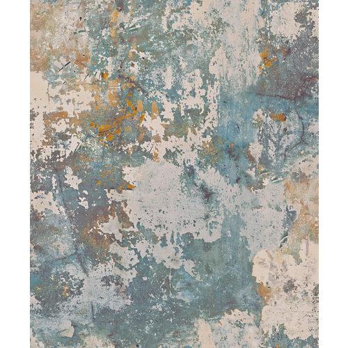Papel estuco azul óxido 5,3 m²