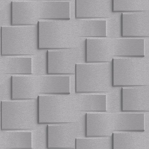 Papel ladrillo gris 5,3 m²