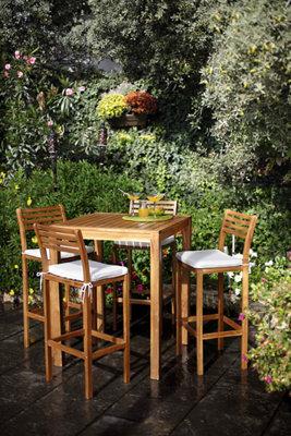 Image of: 5 Conjuntos De Jardin Con Mesas Y Sillas Altas Leroy Merlin