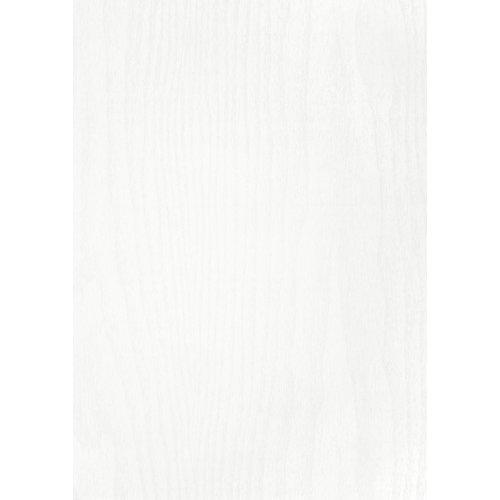 Mini rollo de papel autoadhesivo madera blanca 45x200 cm