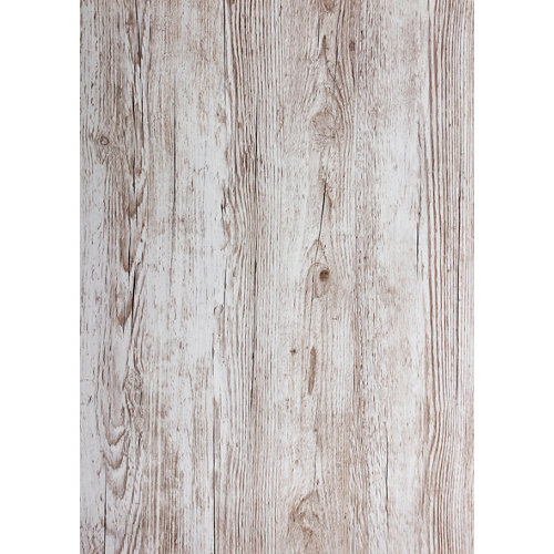 Mini rollo de papel autoadhesivo madera pino 45x200 cm