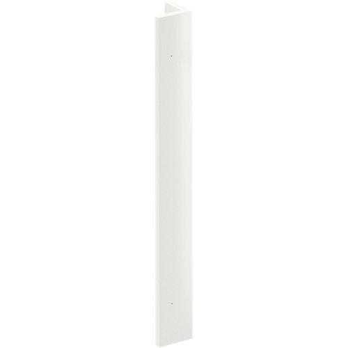 Regleta angular delinia id sevilla blanco 9x76,8 cm
