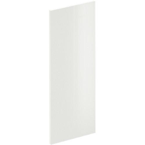 Puerta para mueble cocina sevilla blanco brillo 29,7x76,5 cm