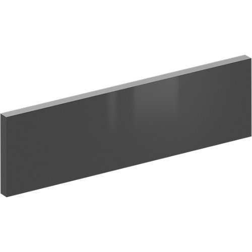 Frente para cajón sevilla gris brillo 44,7x12,5 cm