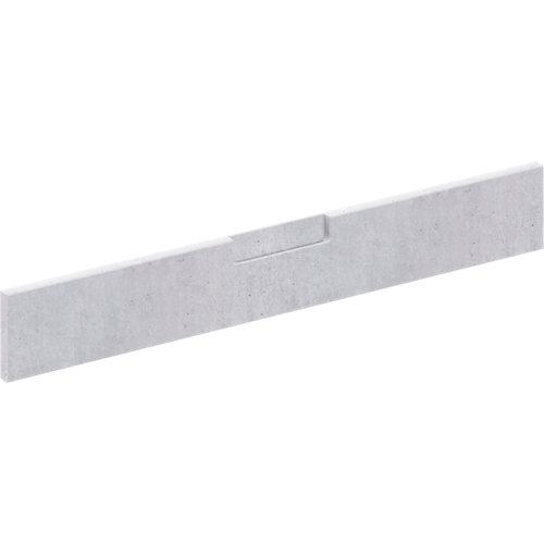 Frente para cajón berlín cemento 89,7x12,5 cm