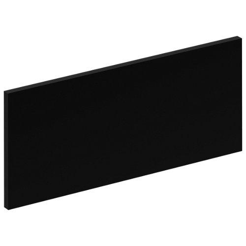 Frente para cajón soho negro 59,7x25,3x1,9 cm