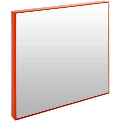 Espejo cuadrada jo rojo 30.6 x 30.6 cm