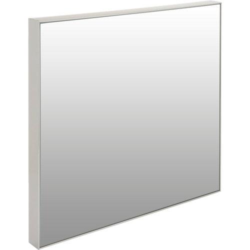 Espejo cuadrada jo plata 30.6 x 30.6 cm