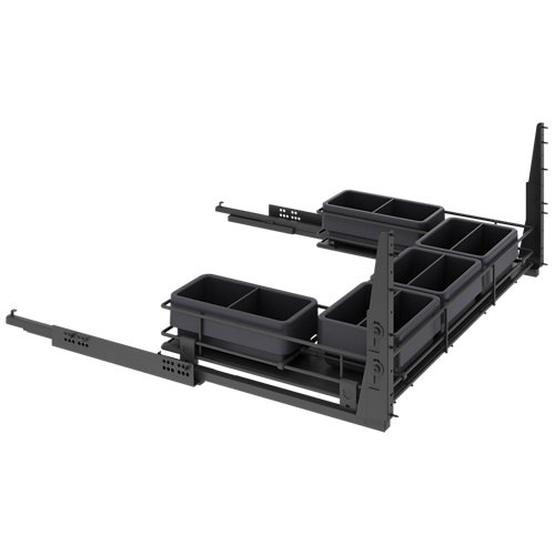 Kit extraíble bajo fregadero 56x80x76,8 cm