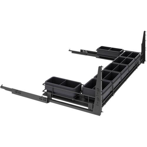 Kit extraíble bajo fregadero 56x120x76,8 cm