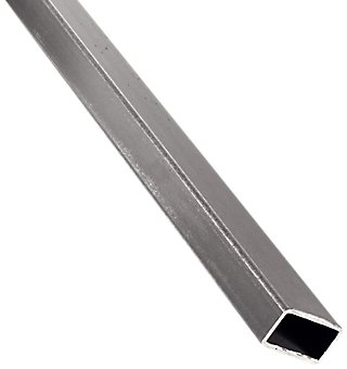Perfil Forma Tubo Rectangular De Acero Negro 1 5mm Leroy Merlin