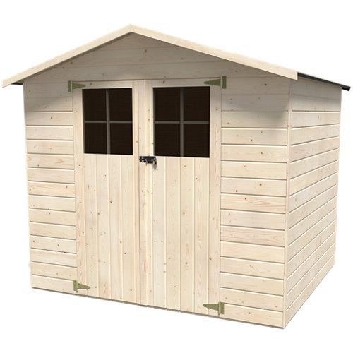Caseta de madera louis de 228x200x202.4 cm y 4.61 m2