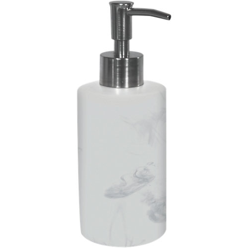 Dispensador de jabón mármol blanco blanco