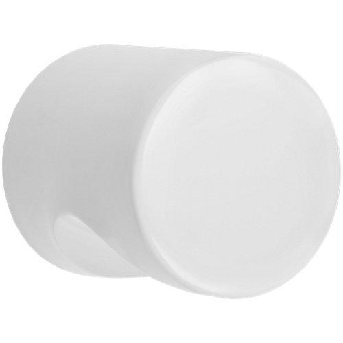 Lote 2 pomos cocina blanco pintado 1,9x2,48 cm