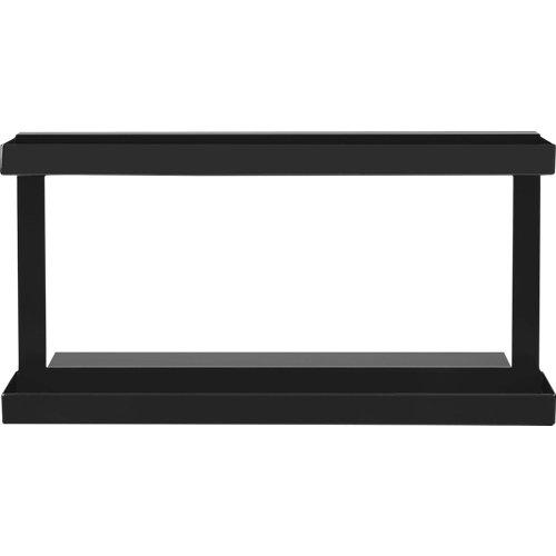Estantería para especias delinia id acero negro de 156.5 x 88 mm