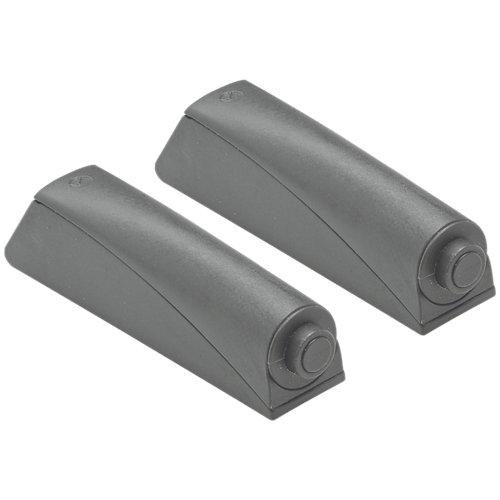 Pack de 2 sistemas push-open puertas gris