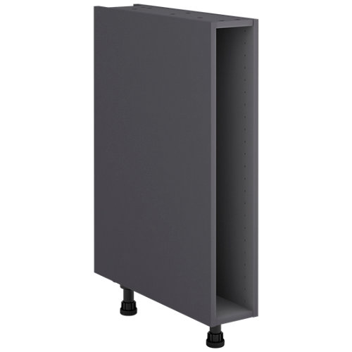 Mueble bajo cocina gris delinia id 15x76,8 cm