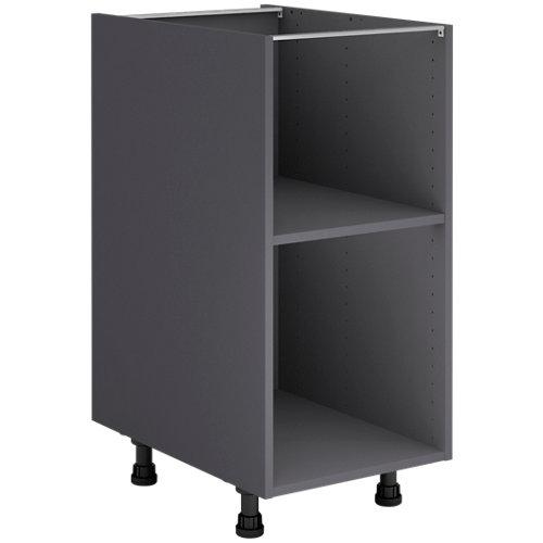 Mueble bajo cocina gris delinia id 40x76,8 cm