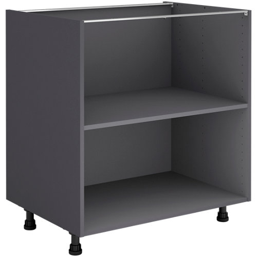 Mueble bajo cocina gris delinia id 80x76,8 cm