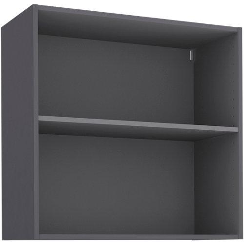 Mueble alto cocina gris delinia id 80x76,8 cm