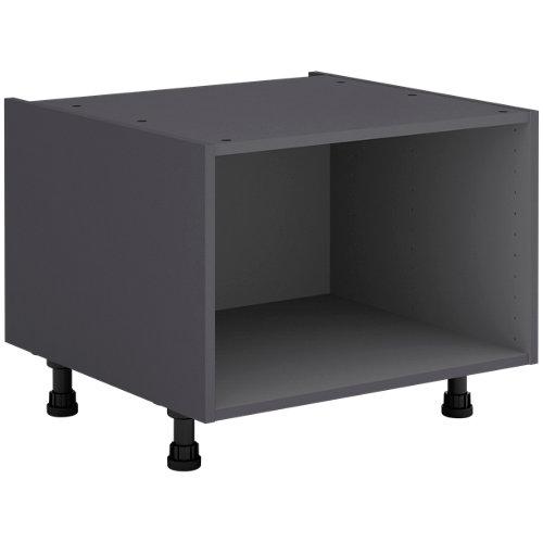 Mueble bajo cocina gris delinia id 60x38,4 cm