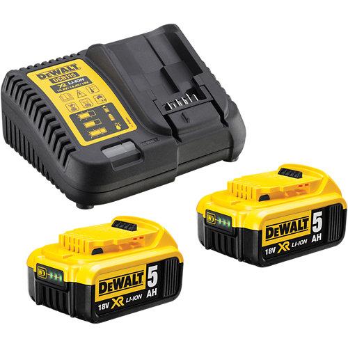 Kit 2 baterías dewalt dcb115p2-qw de 18 amperios