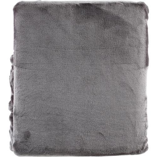 Manta bigsweety gris antracita 130x170 cm