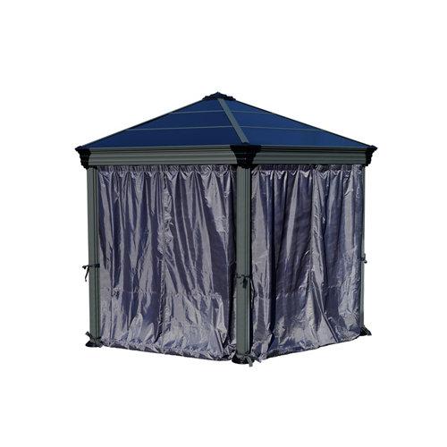 Set de cortinas pérgola mónaco y roma 5.1 m² palram
