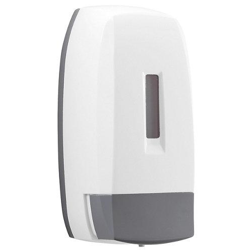 Dispensador de jabón touch de resina termoplástica blanco