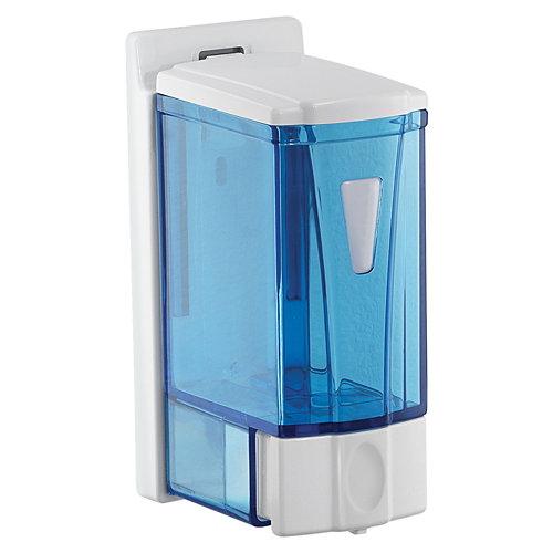 Dispensador de jabón marlin de resina termoplástica blanco