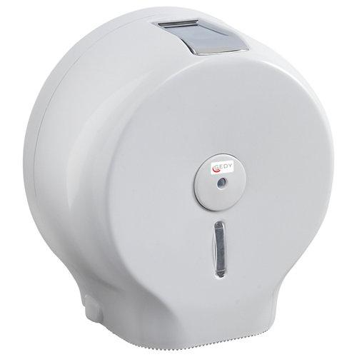 Dispensador rollo de papel gedy blanco