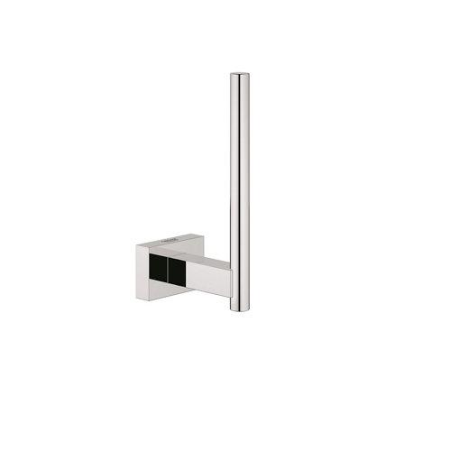 Portarollo wc essentials cube 4.2x12.1x6 cm