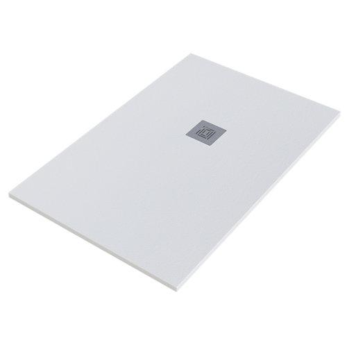 Plato ducha stone 80x140 cm blanco