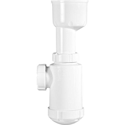 Sifón botella urinario horizontal 300 mm