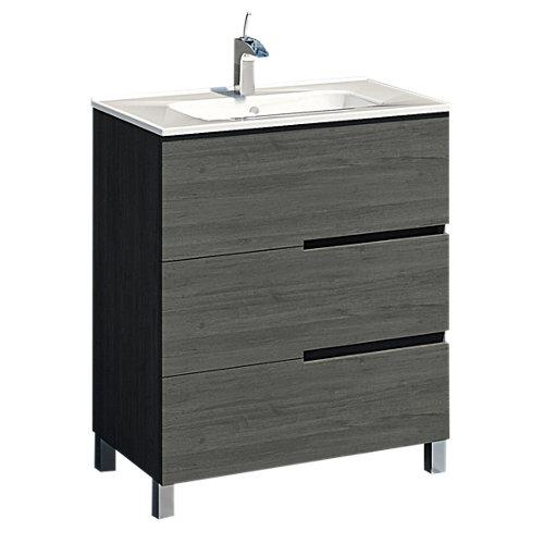 Mueble de baño alda gris grafito 70 x 40 cm
