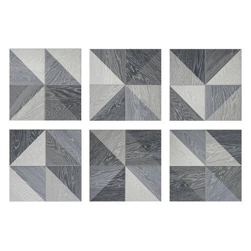 Pavimento porcelánico melange 33,15x33,15 negro c1