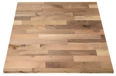 Encimera de madera para cocina nogal 65x250x2,7 cm