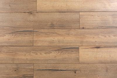 gabinetes de cocina de laminado marrón Suelo Laminado ARTENS Intenso Orito De Color Marrn LEROY