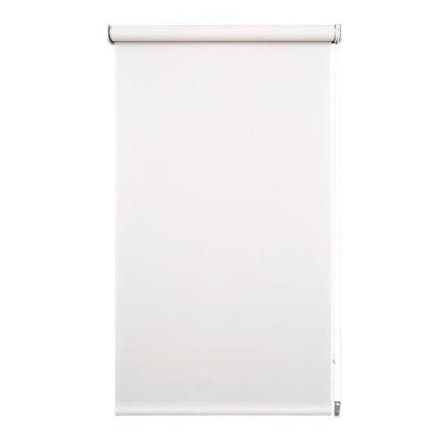 """""""Estor enrollable semitraslúcido Screen Bari en color blanco lino. Incluye tornillería para su instalación. Medidas: 220 x 250 (ancho total x alto)."""