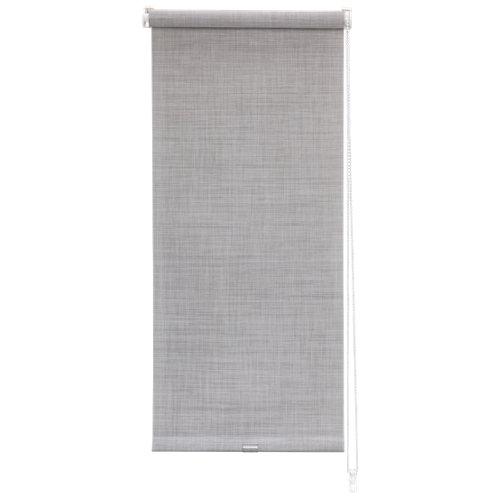 Estor enrollable mini screen texture gris de 52x190cm