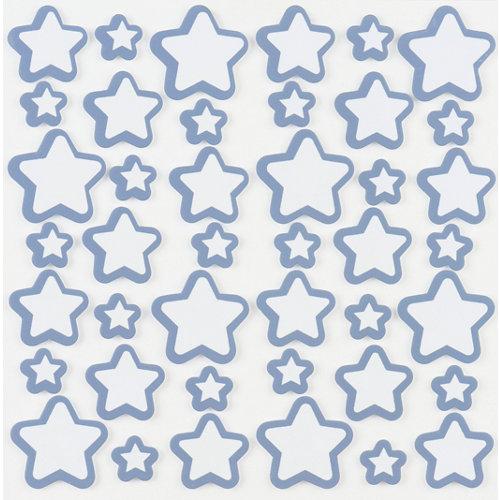 Stickers foam estrellas 34x31 cm